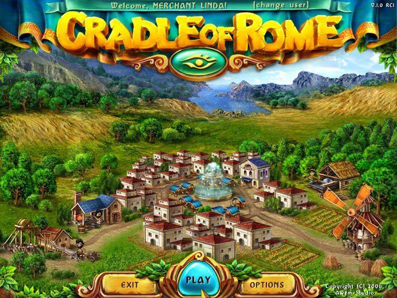 Crandle of Rome