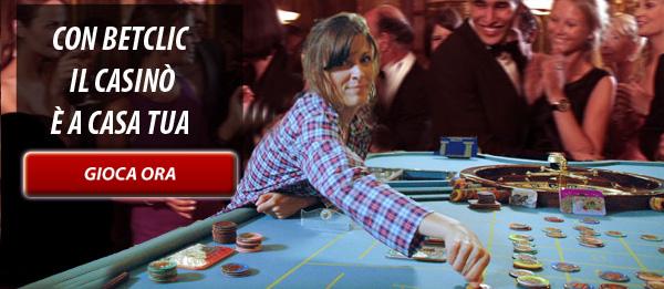 Iscrivi subito sul casino' piu' in voga del momento. Su Betclic casino hai oltre 70 tipi differenti di gioco e numerossime roulette