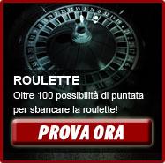 Roulette: oltre 100 possibilita' di puntata per sbancare il croupier