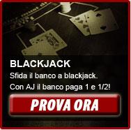 Blackjack: fai 21 e fai sballare il banco!