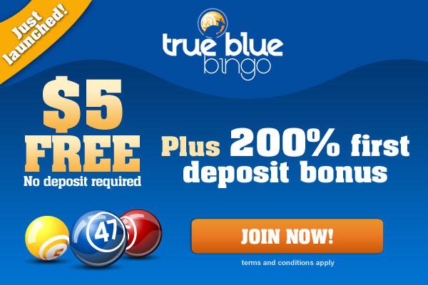 True Blue Bingo - BONUS