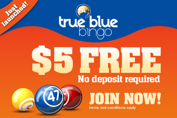 True Blue Bingo - BONUS